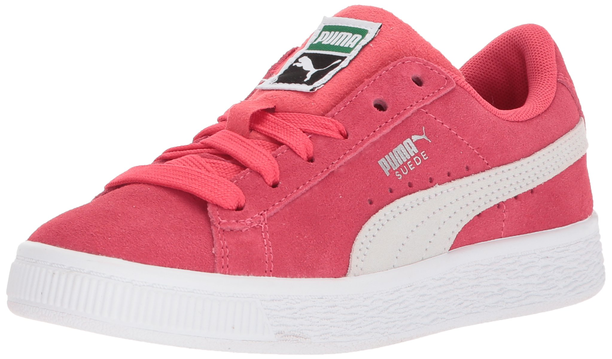PUMA Unisex Suede Classic Kids Sneaker, Paradise