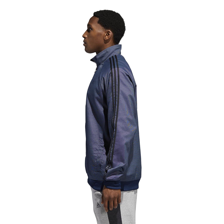 adidas Mens Essentials 3-Stripes Woven Track Top