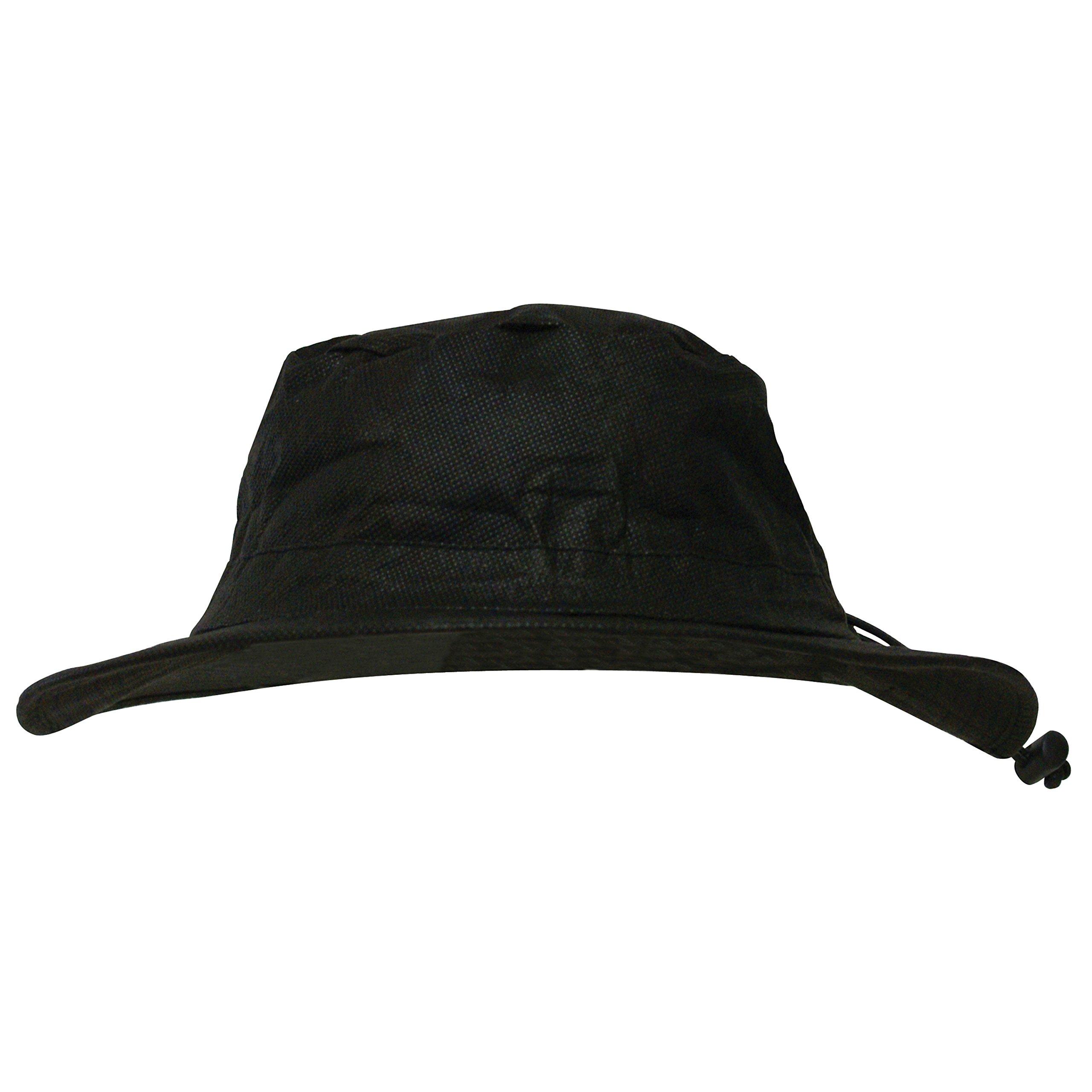 Frogg Toggs Waterproof Breathable Bucket Hat, Black, Adjustable