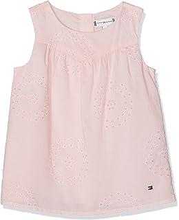 Tommy Hilfiger Baby-M/ädchen Kleid Scattered Floral Dress Slvls
