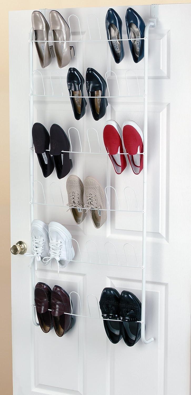Amazon.com: ClosetMaid 8040 18-pair perchero para puerta ...