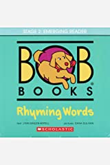 Bob Books: Rhyming Words: Stage 1 Starting to Read Cards