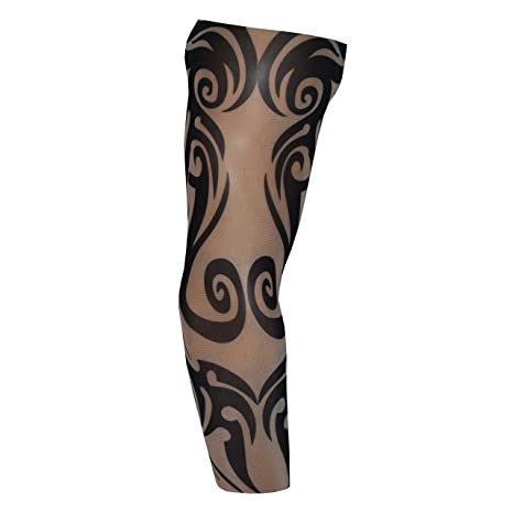 a7920f07c Fake Tattoo Arm Sleeve Tribal Swirl (T33): Amazon.co.uk: Toys & Games