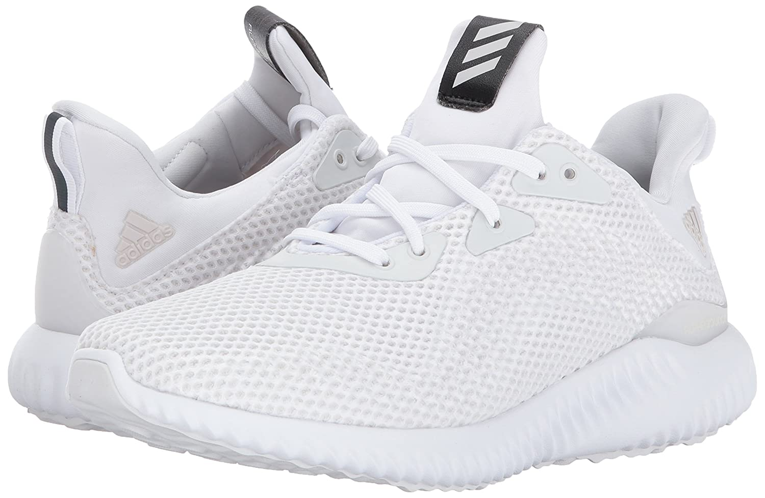 adidas Performance Women's Alphabounce W Running Shoe B01MYR3OE2 7.5 B(M) US|White/Crystal White/Grey One