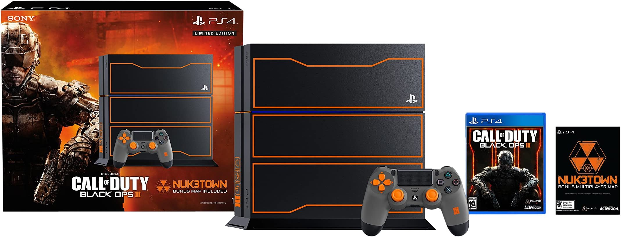 Amazoncom Playstation 4 1tb Console Call Of Duty Black Ops 3