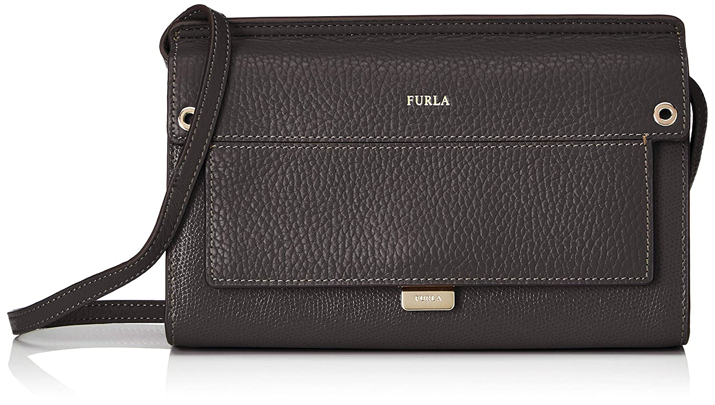 fca681ec Amazon.com: Furla Women's Like Mini Cross Body Bag, Onyx, One Size: Shoes