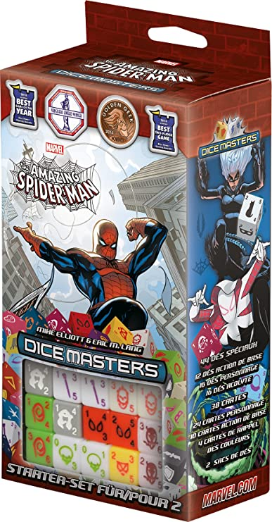 wizkids 272145 Cartas) Marvel Dice Masters Amazing Spiderman ...
