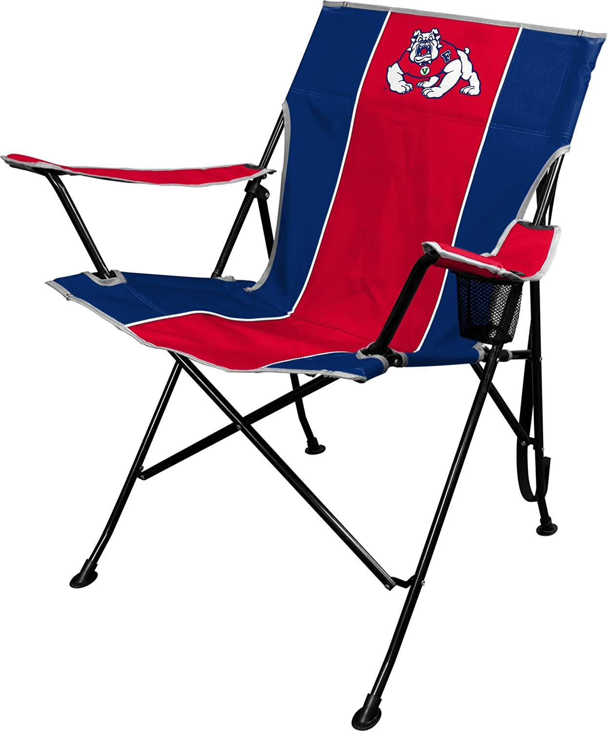 Amazon.com: Silla plegable NCAA con portavasos y funda de ...