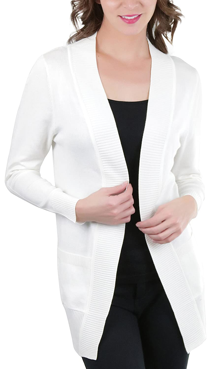 d96acef2 ... chic with this must-have bomber jacket. Great for Spring, Summer or  Fall. This fashionable cardigan is the perfect accessory. Ribbed Cuff Long  Sleeves.