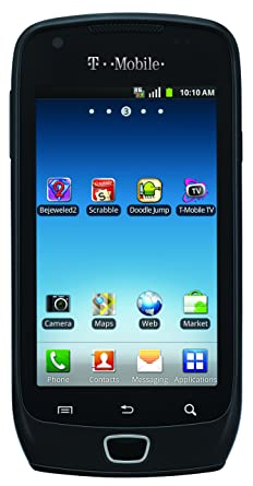 Samsung Galaxy Exhibit, Black 4GB (T-Mobile)