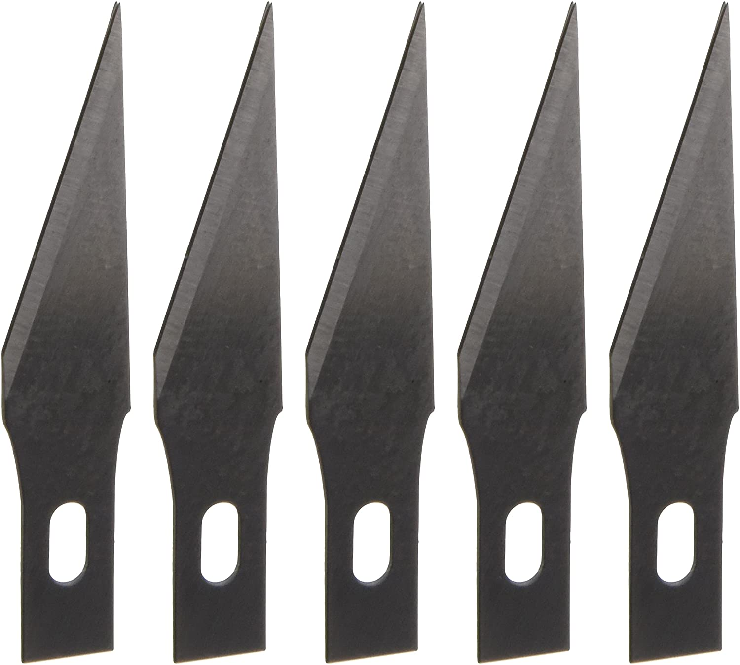 Derwent Replacement Craft Knife Blades, Set of 5, Professional Quality, 2301936 ACCO