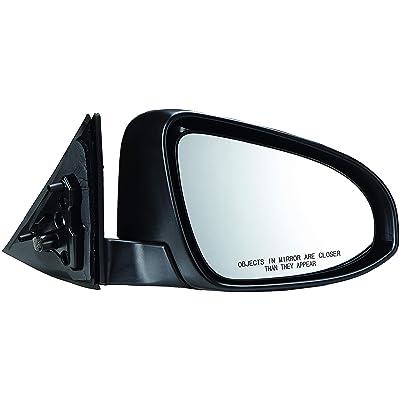 Dorman 959-172 Passenger Side Power Door Mirror - Folding for Select Toyota Models, Black: Automotive