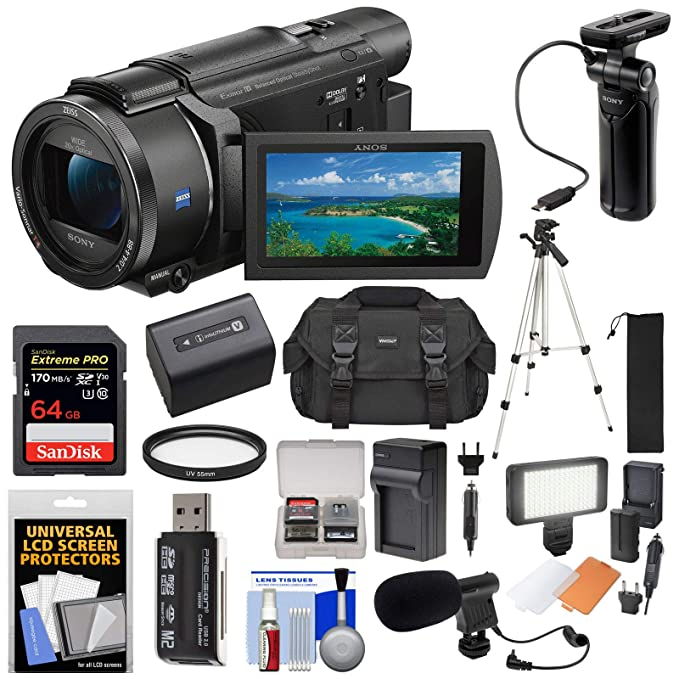 Amazon.com: Sony Handycam FDR-AX53 - Videocámara Wi-Fi 4K ...