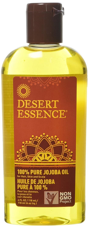 Desert Essence 100% Pure Jojoba Oil, 4-Ounce, Bottle 860601
