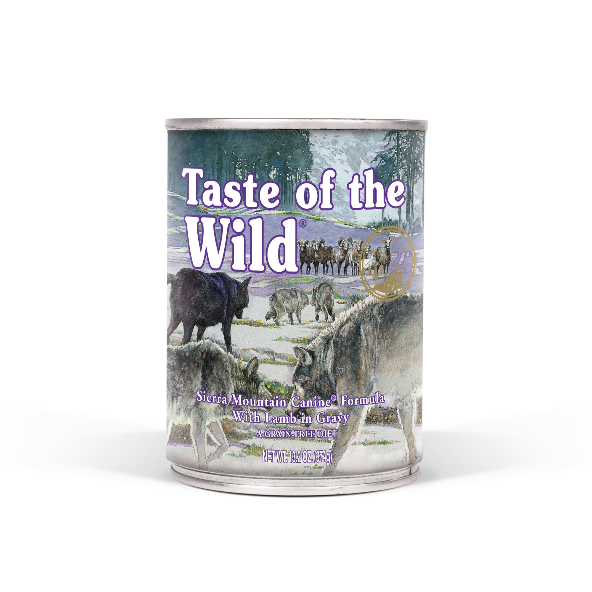 Taste Of The Wild Grain Free Real Meat Recipe Premium Wet Canned Stew Dog Food (12) 13.2 oz. Cans by Taste of the Wild