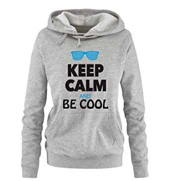 Amazon.com: Comedy Shirts - KEEP CALM AND BE COOL - women ...