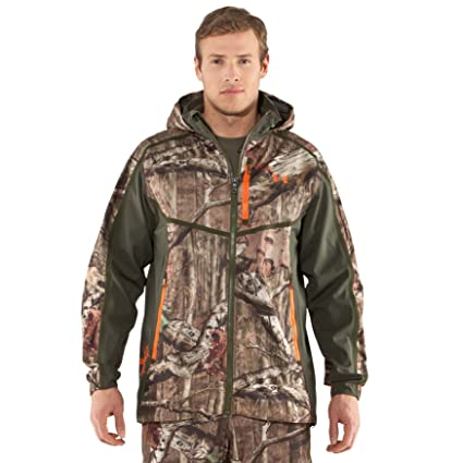 0aa9d80c7244a Amazon.com : Under Armour Men's Ridge Reaper Shell Camo Hunting Jacket :  Sporting Goods : Sports & Outdoors