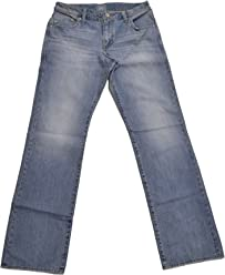 Rock & Republic Mens Regular Fit Straight Leg Jeans in Cruise