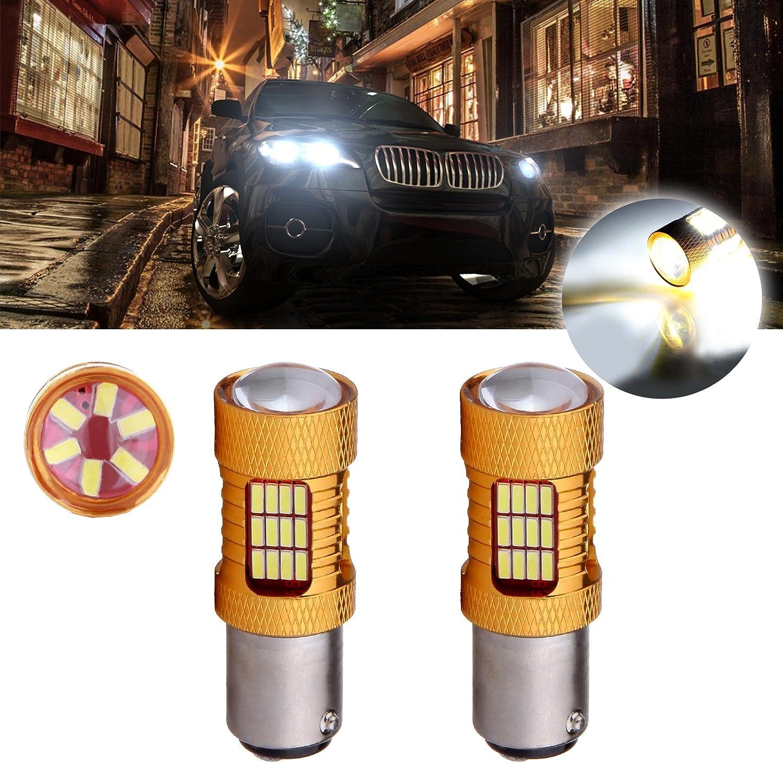 Stop//Brake Light Bulb 2pk Fits Listed BMW Vehicles 7528