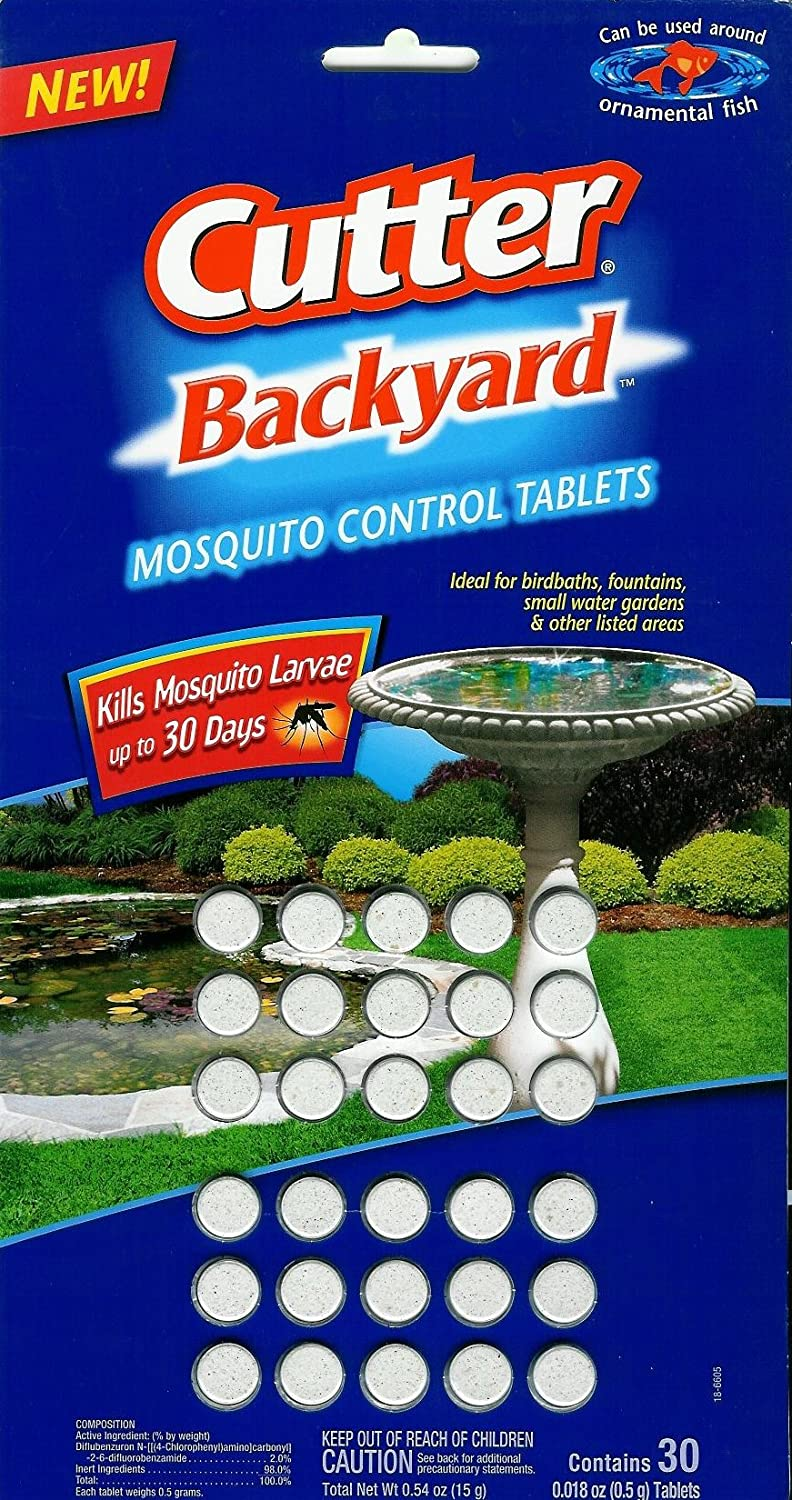 amazon com cutter backyard mosquito control tablets home pest