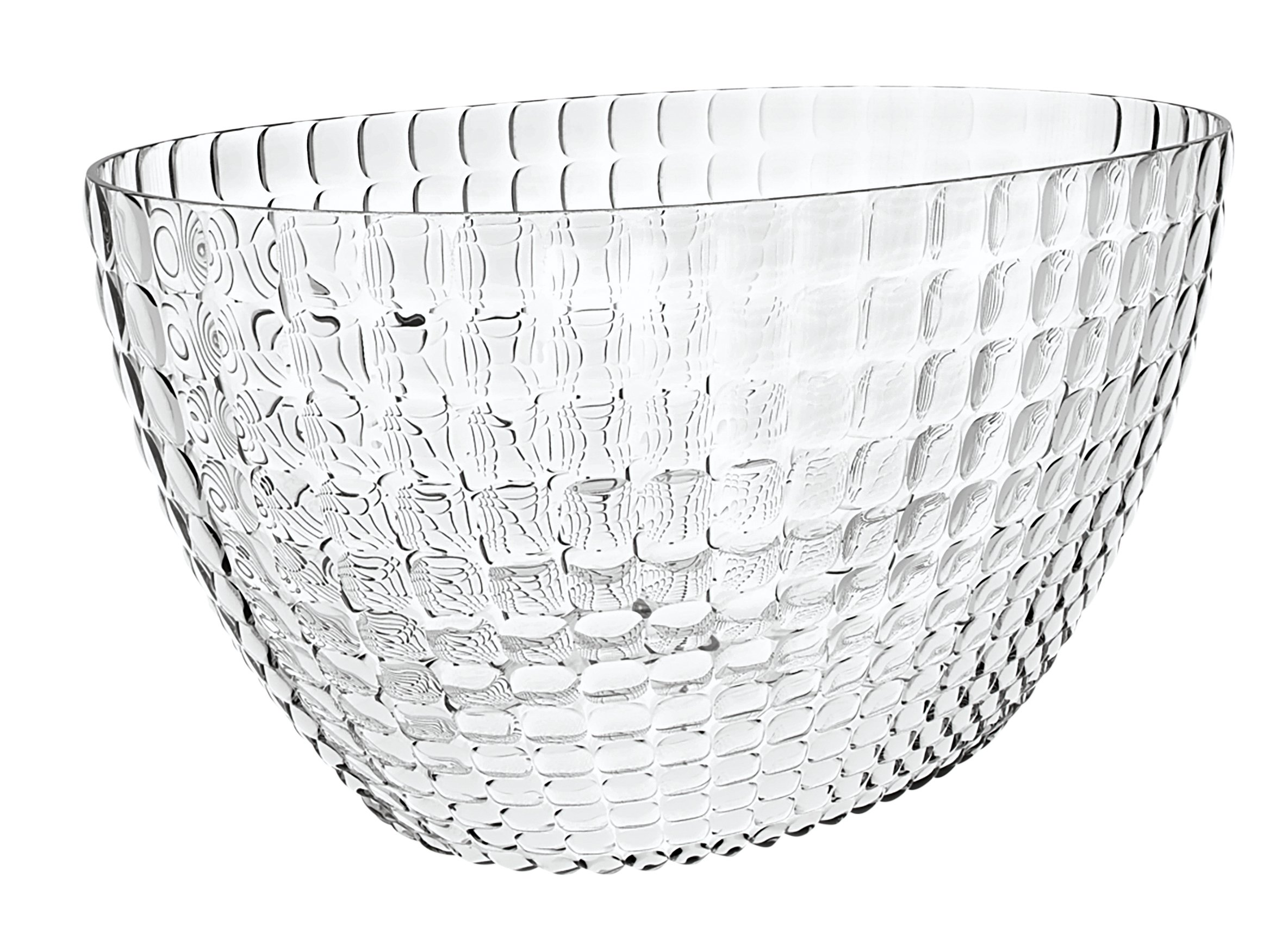 Guzzini Tiffany Collection Ice Bucket, 11-Inches by 7-1/2-Inches, Transparent