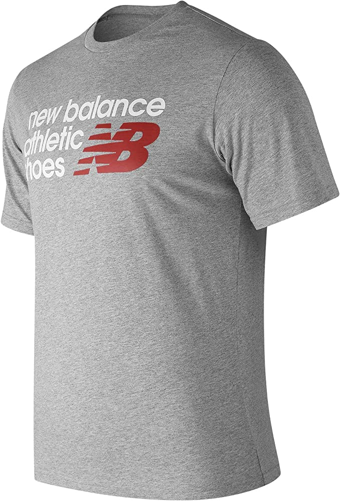 New Balance MT83541 Camiseta, Gris (Athletic Grey AG), Medium ...
