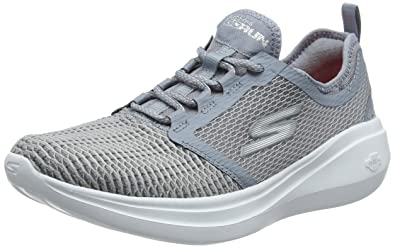 Skechers Performance Go Run Fast, Zapatillas Deportivas para Interior para Mujer, Gris (Grey), 39 EU: Amazon.es: Zapatos y complementos