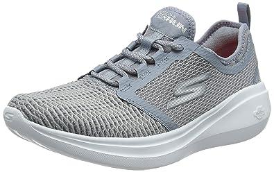 Skechers Performance Go Run Fast, Zapatillas Deportivas para Interior para Mujer, Gris (Grey), 39 EU: Amazon.es: Zapatos y complementos