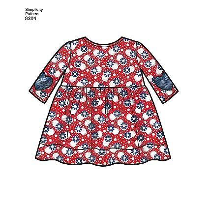 Amazon.com: Simplicity Babies Leggings, Top, Dress, Bibs, Headband ...