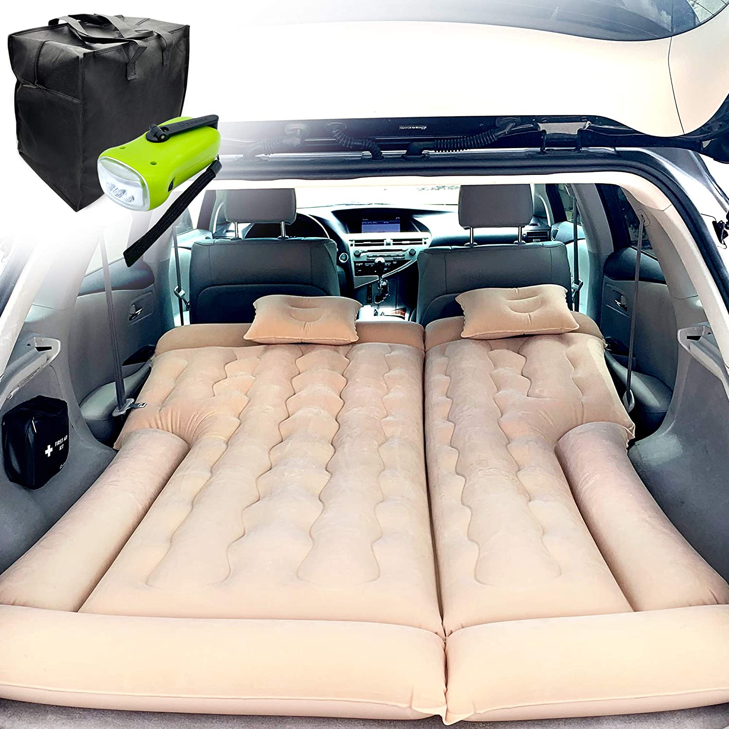 PBC Products SUV Double-Sided Air Mattress
