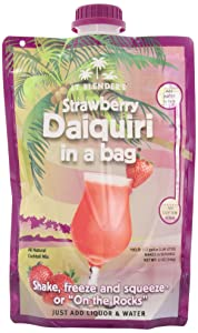 Lt. Blender's Strawberry Daiquiri in a Bag, 12-Ounce Pouches (Pack of 3)