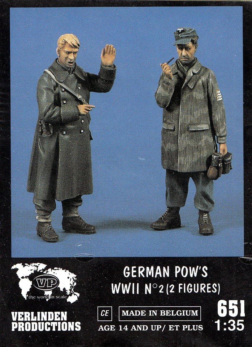 2 Figures Soldiers Figures Resin 1//35 #VP0905 Verlinden  Soviet Officers WW II