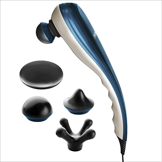 Wahl Deep Tissue Percussion Therapeutic Handheld Electric Massager for Muscle, Back, Neck, Shoulder, Full Body Pain Relief, Perfect Gifts, by Brand used by Professionals #04290-300