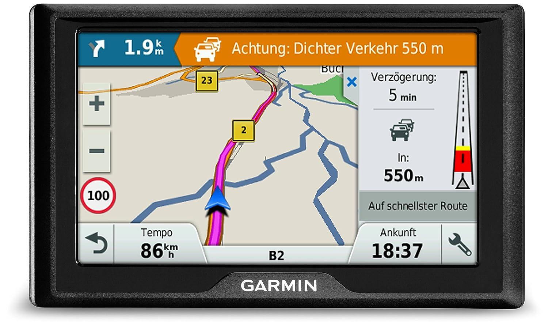 Pantalla de 5, Mapa Europa Completo Garmin Drive 51 Full EU LMT-S Navegador GPS con mapas de por Vida