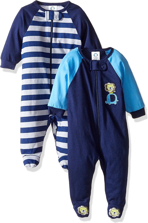 Gerber Baby Boys' 2-Pack Sleep 'N Play: Clothing