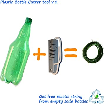 v.2 Botella de plástico reciclado (cortador), Get libre universal ...