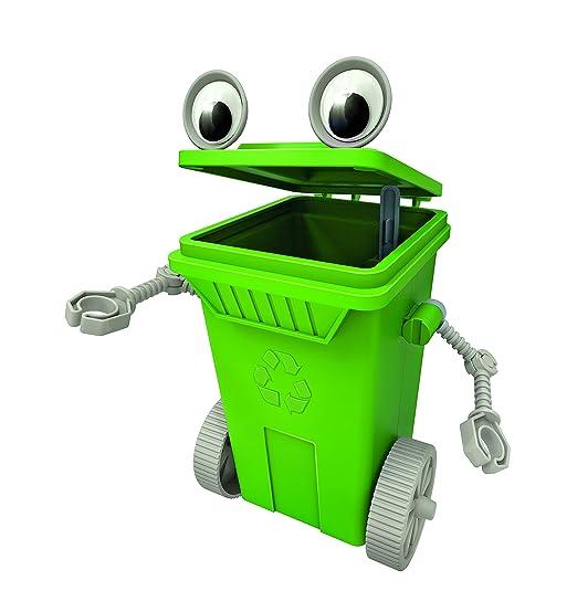 4M 4938 Rubbish Cart Robot, Multicolor