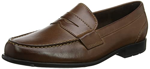 Rockport Classic Loafer Penny Dark Brown, Mocasines para Hombre: Amazon.es: Zapatos y complementos