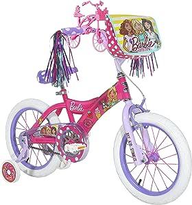 Dynacraft Barbie - Bicicleta de calle BMX para niña (40,6 cm ...
