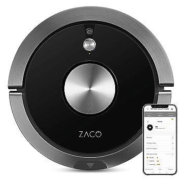 ZACO A9s - Robot 3 en 1 Aspirador friegasuelos - WiFi, navegación ...