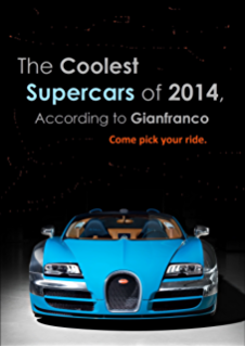 the coolest supercars of 2014 according to gianfranco