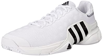 Mens Shoes adidas Barricade 2015 White/Black