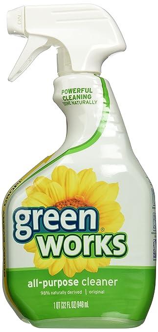 Amazoncom Green Works All Purpose Cleaner 32 oz Lemon 2 pk
