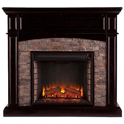 Amazon Com Southern Enterprises Grantham Corner Electric Fireplace