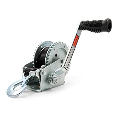 Camco 50000 Winch (2,000 lb. with 20' Strap): Automotive
