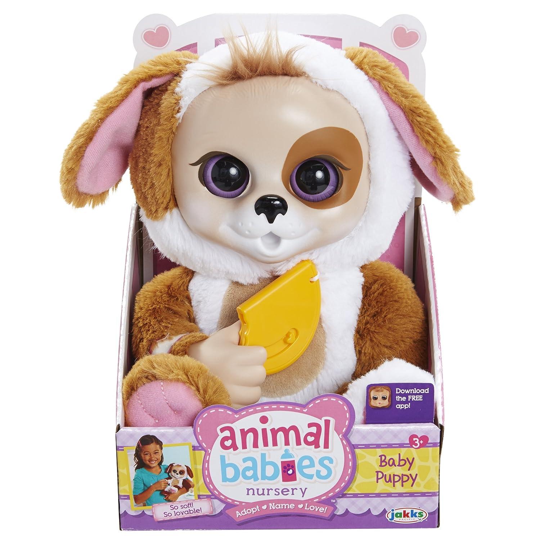 Amazon Com Animal Babies Core Puppy Plush Toys Games