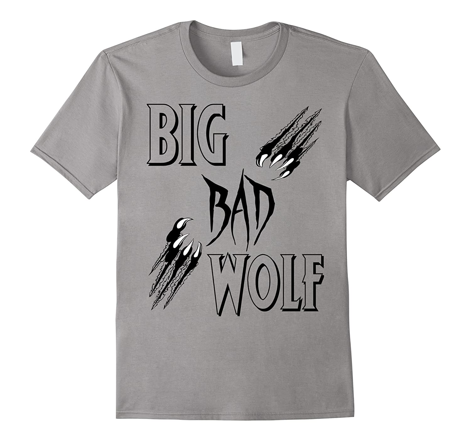 Big Bad Wolf Halloween T-shirt Scary Tee-FL