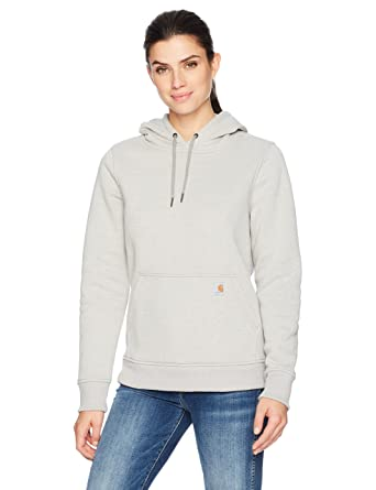 4aca62d1c9090 Carhartt Women's Clarksburg Pullover Sweatshirt at Amazon Women's Clothing  store:
