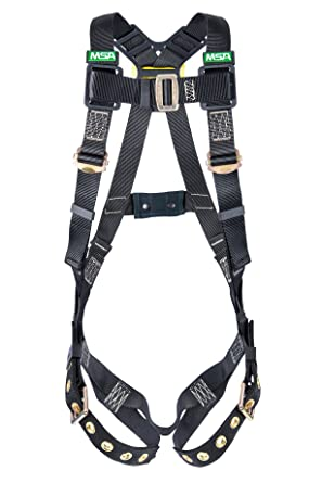MSA 10152632 - Arnés de estilo chaleco para hombre de trabajo ...