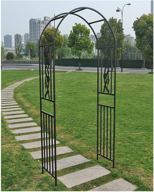 HLMBQ Arco para Rosas Extensible,Arcos de Jardín para Boda ...